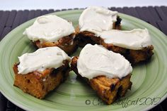Recipe for Fitness: Champion Nutrition Recipe of the Week - Pumpkin Protein Bars