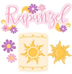 Rapunzel Set SVG scrapbook cut file cute clipart files for silhouette cricut pazzles free svgs free svg cuts cute cut files Disney Fantasy, Tangled Birthday Party, Ballerina Birthday, 2nd Birthday, Birthday Parties, Tangled Lanterns, Truck Or Treat, Cute Clipart, Disney Scrapbook