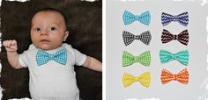 Pick TWO Interchangeable Bowties with Onesie or Tee! at VeryJane.com