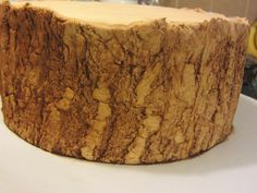 Decorate The Cake: Making realistic tree bark