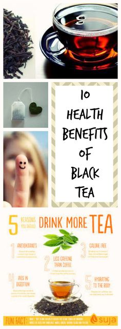 I bet you have heard that drinking tea is good for you. Here's 10 amazing benefits of drinking black tea that can drastically improve your health.