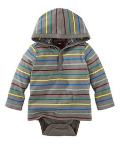 Look at this Thunder Berg Hooded Bodysuit - Infant on #zulily today!