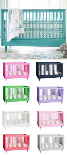 Harper Crib- Absolutely love this crib I will definitely consider getting the Tiffany Blue crib.