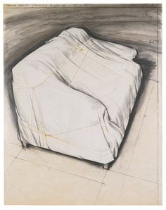 Christo & Jeanne-Claude, WRAPPED COUCH, PROJECT