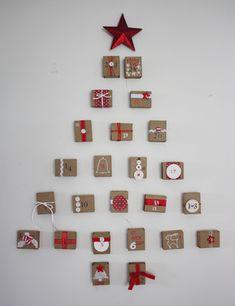 matchbox advent calendar // crafty