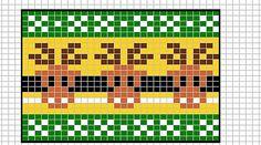 Ravelry: Moose chart pattern by Sandra Jäger