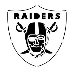 Oakland raiders logo oakland raiders logo coloring page for Oakland raiders logo coloring page