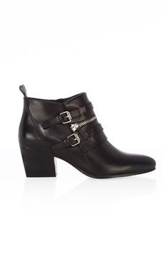 Zip and Buckle Boot