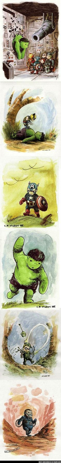 The Avengers, Winnie he Pooh edition