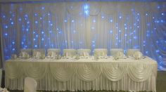 backdrop Our Wedding, Backdrops, Table Decorations, Home Decor, Homemade Home Decor, Backgrounds, Decoration Home, Dinner Table Decorations, Interior Decorating