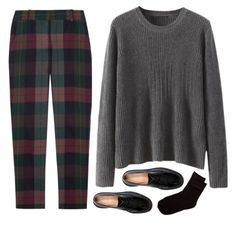 Like Tartan, loose lightweight sweater for layering. Hate loafers.