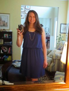 Polka Dot Skies: Stitch Fix Review #1 A Colorful Spring Dress