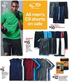 C9 Apparel Deals at Target for Men Starting at Just $3.60!