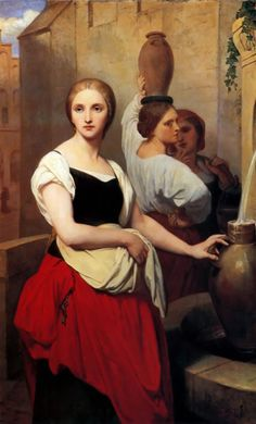 Margaret at the Fountain - Life and Paintings of Ary Scheffer (1795 – 1858)