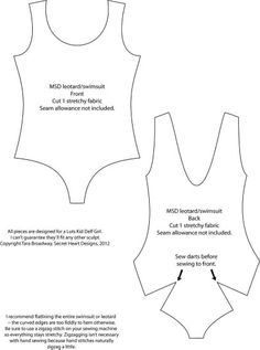 Msd leotard
