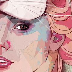 Sweet Party by Ariana Perez, via Behance
