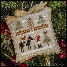 Little House Needleworks Farmhouse Christmas series cross stitch