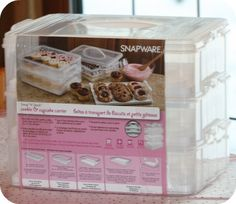 36 Cupcake Carrier An Awesome Cupcake Carrier  Pinterest  Cupcake Carrier Pink