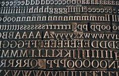 letter press - Google Search