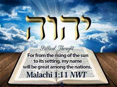 Malachi 1:11