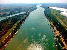 Belgrade, Serbia. Sava river. Beograd, Srbija. Sava.