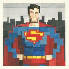 Adam Lister - Superman