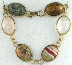 Krementz, scarab bracelet