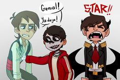 """"""" """"Stop it! You guys have no idea how long this has been on myWIPs Silly idea in where Star mess ups a spell and transforms everyone. Leo is a ghost just. Funny Disney Memes, Movie Memes, Stupid Funny Memes, Disney Cartoons, Funny Cartoons, Disney Crossovers, Cartoon Crossovers, Cartoon As Anime, Cartoon Shows"""