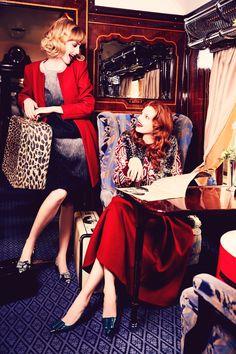 Duchess Dior: Frances Coombe & Anastasia Ivanova by Ellen von Unwerth for Vogue Italia Suggestions 2015