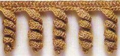 ¿Necesitas dar terminación a tus labores tejidas a crochet? Pues entonces ten en cuenta estos patrones de picos y flecos que comparte Eva María Torres de Delabores.com. Son ideales para aplicar a tus colchas y a muchas manualidades más. :)