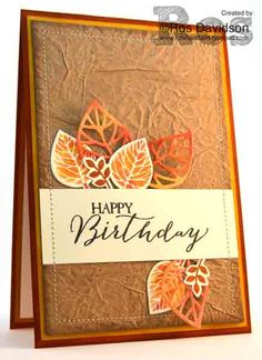 Stampin' Up!, thoughtful branches, butterfly basics, baby wipe technique  http://rosdavidson.typepad.com/ros_davidson_live_life_an/2016/08/happy-birthday-thoughtful-branches-card.html
