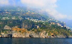 Italian Riviera and Amalfi Drive, I dream of going here one day.  My ancestry goes back to this area.  I found that out doing my genealogy.