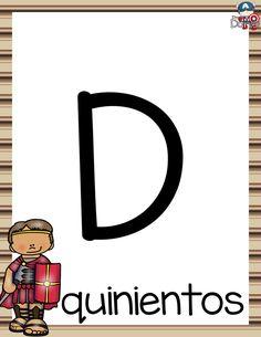 Diseños para enseñar y aprender los números egipcios, mayas y romanos   Educación Primaria Romans, Social Studies, Numbers, Symbols, Letters, Math, Learning, Creative, Homeschooling
