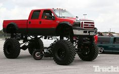Jacked-up Ford!