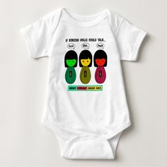 If Kokeshi Dolls Could Talk Baby Bodysuit - diy cyo customize create your own personalize