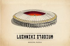 composed of sixty illustrations, kovac has an ongoing kickstarter campaign to print the series in a postcard format. Football Gif, Football Stadiums, Postcard Format, Sports Stadium, Line Art, Illustration Art, Soccer, World, Illustrator