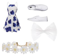"""""""Floral"""" by livadams206 on Polyvore featuring Vans and Humble Chic"""