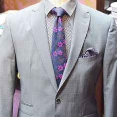Bold British Style from @wp_menswear in store now. #menswear #mensfashion #chestie #suitandtie #florals #shirtandtiecombos #suits