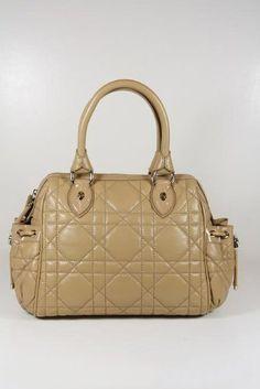34978835b9ea Christian Dior Handbags Large Mocha Lamb Leather M02000OASF Christian  Dior