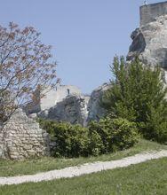 Les-Baux-de-Provence: tappa principale per la strada degli ulivi
