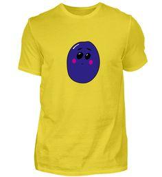 Pflaume Süßes Frucht Kinder Shirt T-Shirt Plum, Cotton