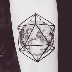 12 Beautifully Minimal Astronomy-Inspired Tattoos - UltraLinx