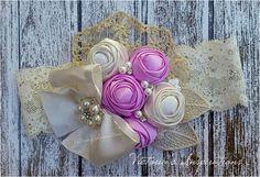 Baby girl headband / bow / diademas