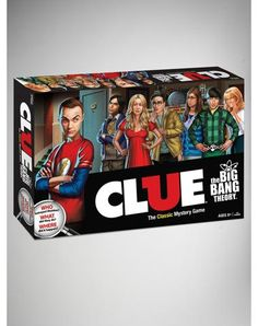 Big Bang Theory Clue Board Game