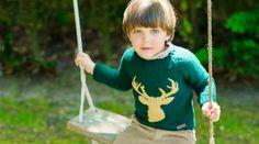 Deer in knit