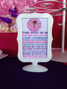 Doc McStuffins Birthday Party Ideas | Photo 1 of 22