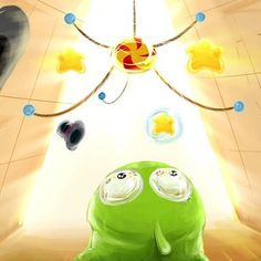 Om Nom lives a perfectly normal life. A normal life filled with magic hats, floating stars, candy, and superpowers. We think this amazing fan art by Ryooken captures what Om Nom sees perfectly. Repin this picture if you think Om Nom has a great life! * iPhone or iPod touch: http://itunes.apple.com/app/id608899141 * iPad:  http://itunes.apple.com/app/id608901634 * Google Play: http://play.google.com/store/apps/details?id=com.zeptolab.timetravel.paid.google #cuttherope #time #travel #omnom…