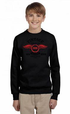 Vintage Perfectly Aged 1989 Youth Sweatshirt