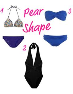 pear shaped body swimsuit