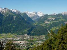 Brandnertal - Überblick vom Muttersberg